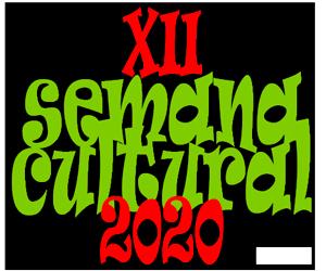Logo XII SEMANA CULTURAL 2020